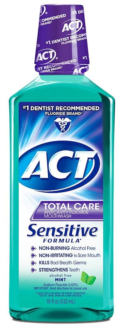 Act Total Care Sensitive Formula, Mint (18 Fl. Oz)