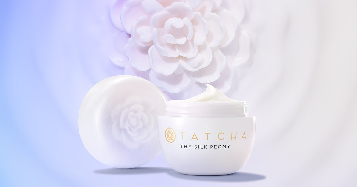 Tatcha's New Silk Peony Melting Eye Cream Uses These Unexpected (& Luxe) Ingredients To Hydrate & Brighten