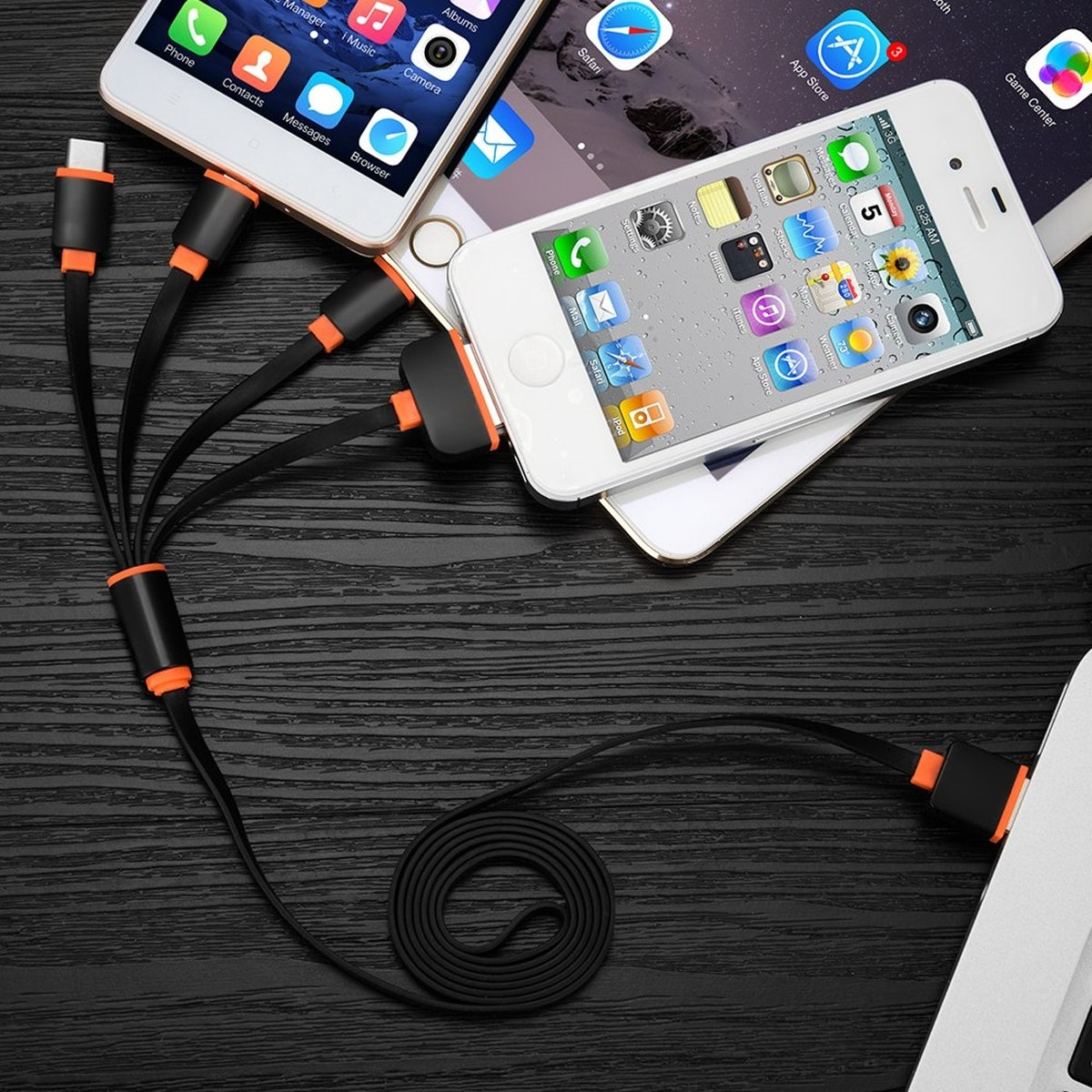 IVVO Multi-Charging Cable (2 Pack)