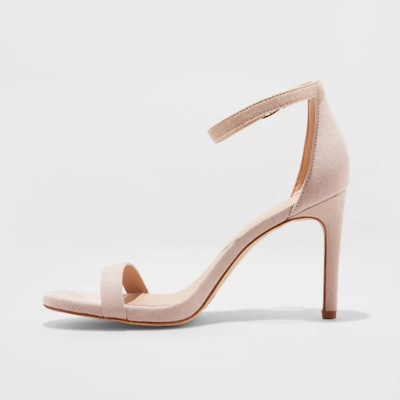 A New Day Women's Gillie Microsuede Stiletto Heeled Pump Sandals