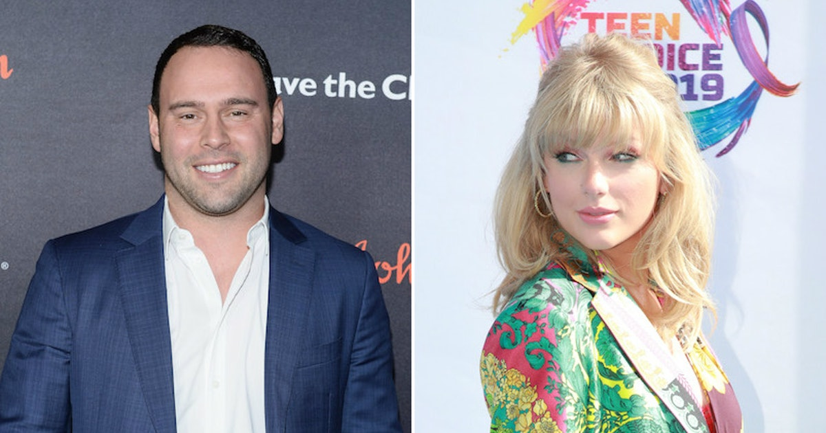 Scooter Braun's Reaction To Taylor Swift's 'Lover' Is Actually Really Supportive