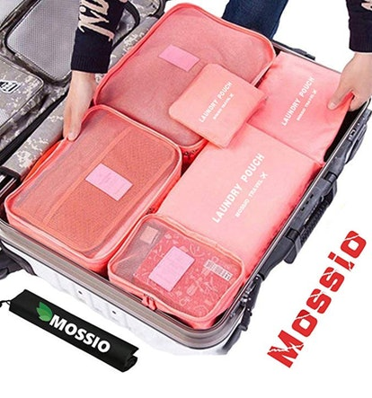 Mossio Packing Cubes With Shoe Bag