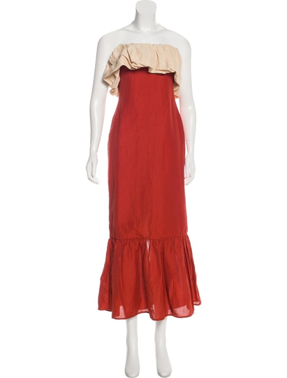 Strapless Maxi Dress w/ Tags