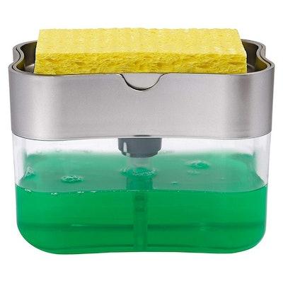 STS Soap Pump Dispenser and Sponge Holder