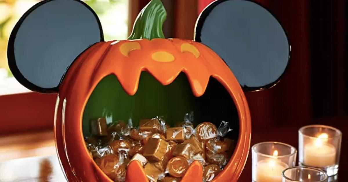 Disney's Halloween Decor For 2019 Is Too Spooky Cute