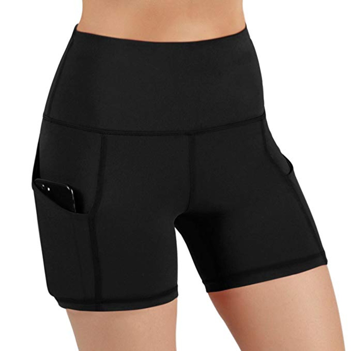 ODODOS High-Waist Yoga & Running Shorts