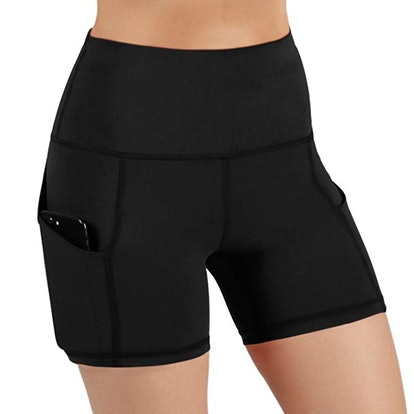 ODODOS High-Waist Yoga & Running Shorts