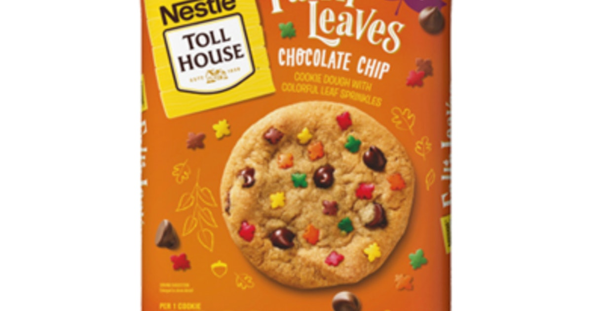 Nestle's Fall'n Leaves Cookies Are Perfect For Back-To-School Lunches