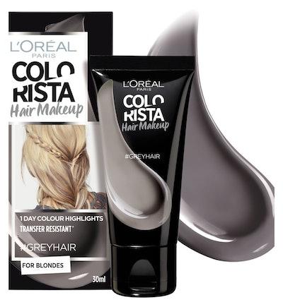 L'Oreal Colorista Hair Makeup Grey Temporary Blonde Hair Colour