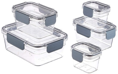 AmazonBasics Food Storage Container (10-Piece Set)