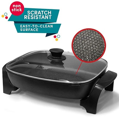 Elite Platinum EG-6203 Deep Dish Electric Skillet