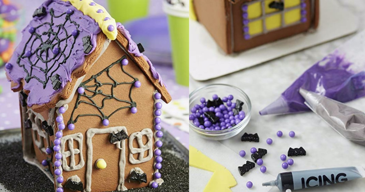 This Halloween Cookie House Kit On Amazon Puts Gingerbread Houses To Shame