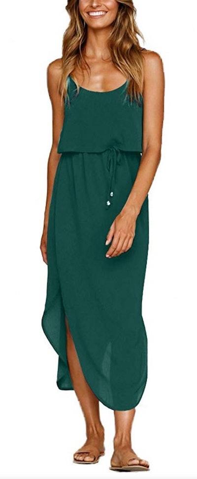 NERLEROLIAN Women's Adjustable Strappy Dress