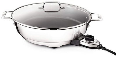 All-Clad SK492 Electric Skillet With Adjustable Temperature Dial