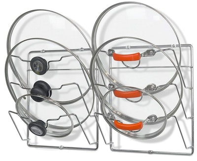 SimpleHouseware Lid Organizer Rack
