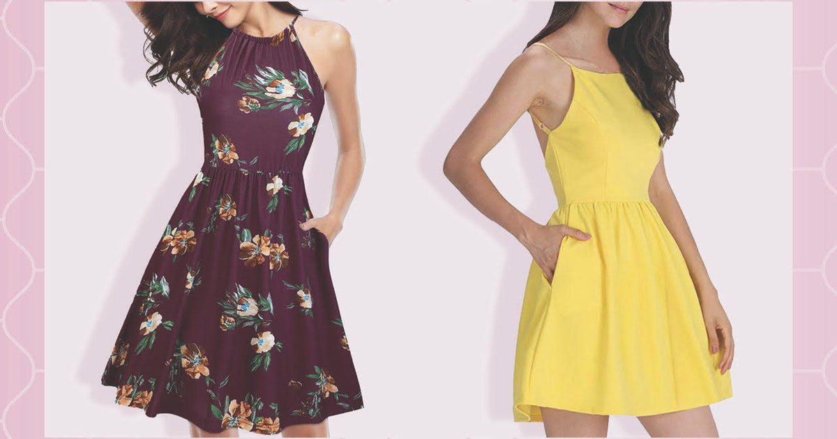 21 Cheap Dresses With Pockets On Amazon