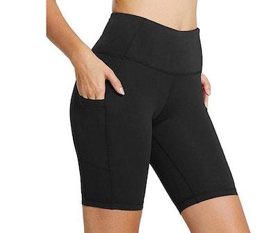 BALEAF Women's High-Waist Workout Shorts