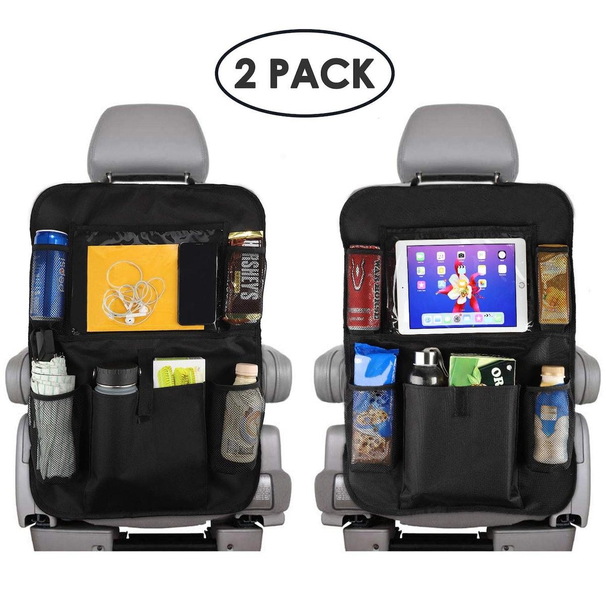 Reserwa Back Seat Storage Organizers (2-Pack)