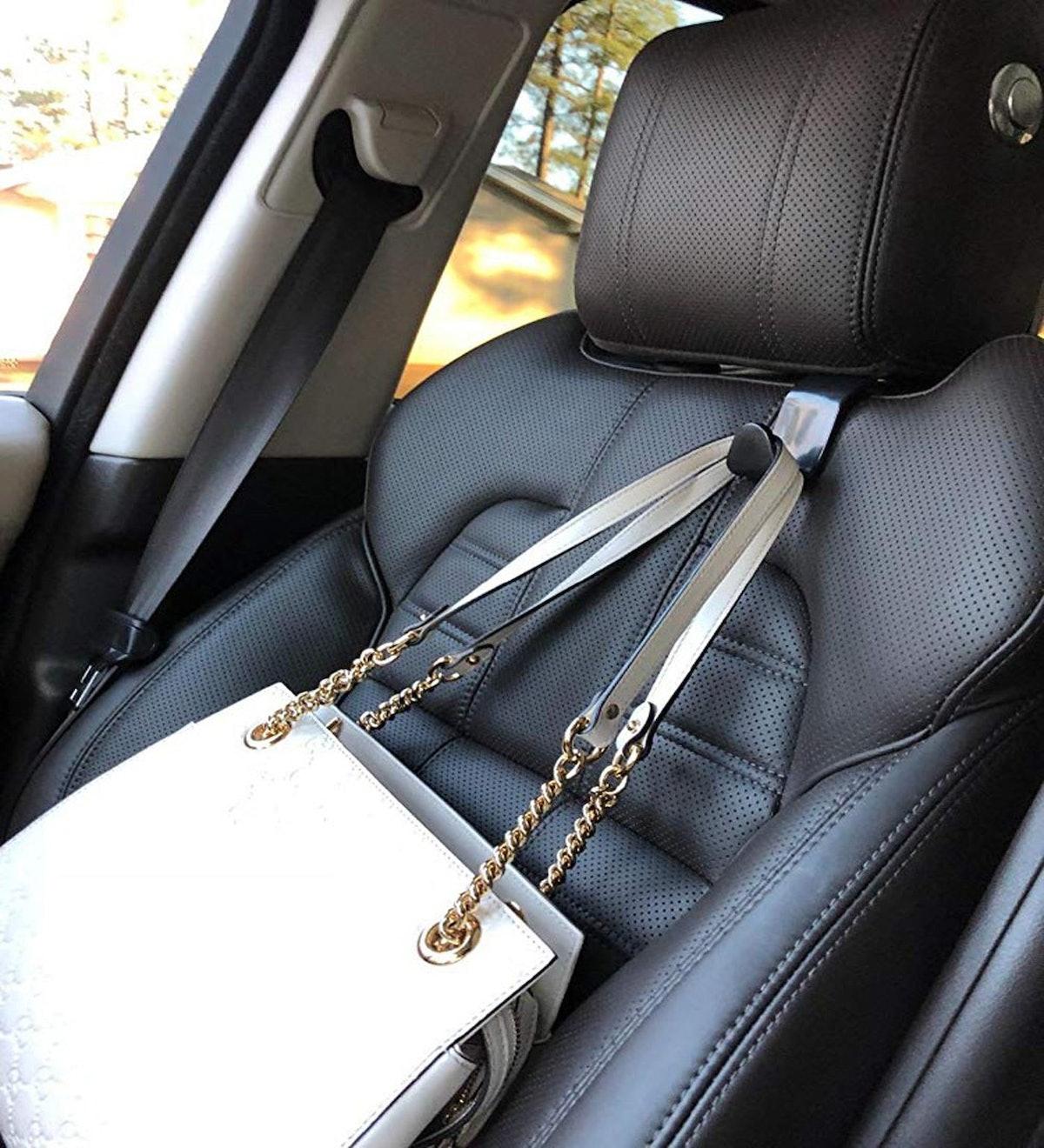 Ofspower Car Headrest Hooks (4-Pack)