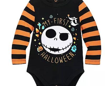 Jack Skellington Halloween Bodysuit for Baby