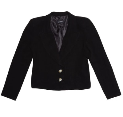 Jacques Linen Blazer - Black