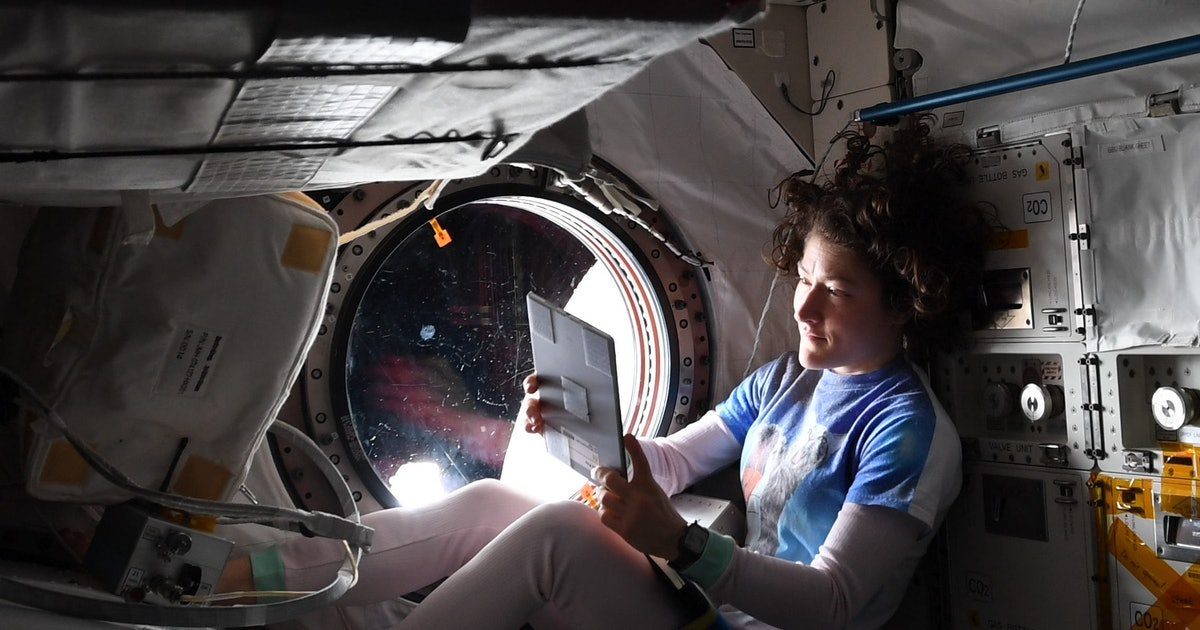 What It's Like To Live In The International Space Station, According To Astronaut Christina Koch