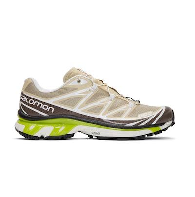 Beige S/Lab XT-6 Softground LT ADV Sneakers