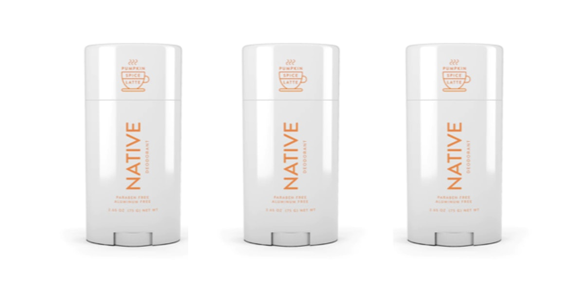 Native Pumpkin Spice Latte Deodorant Is Back, & I'm Ready To Smell Like Pie