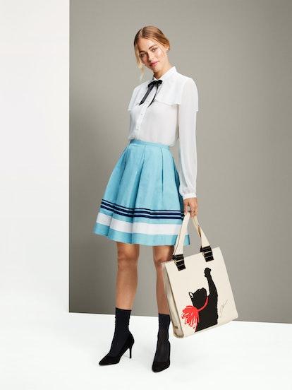 Jason Wu For Target blouse, skirt, and bag