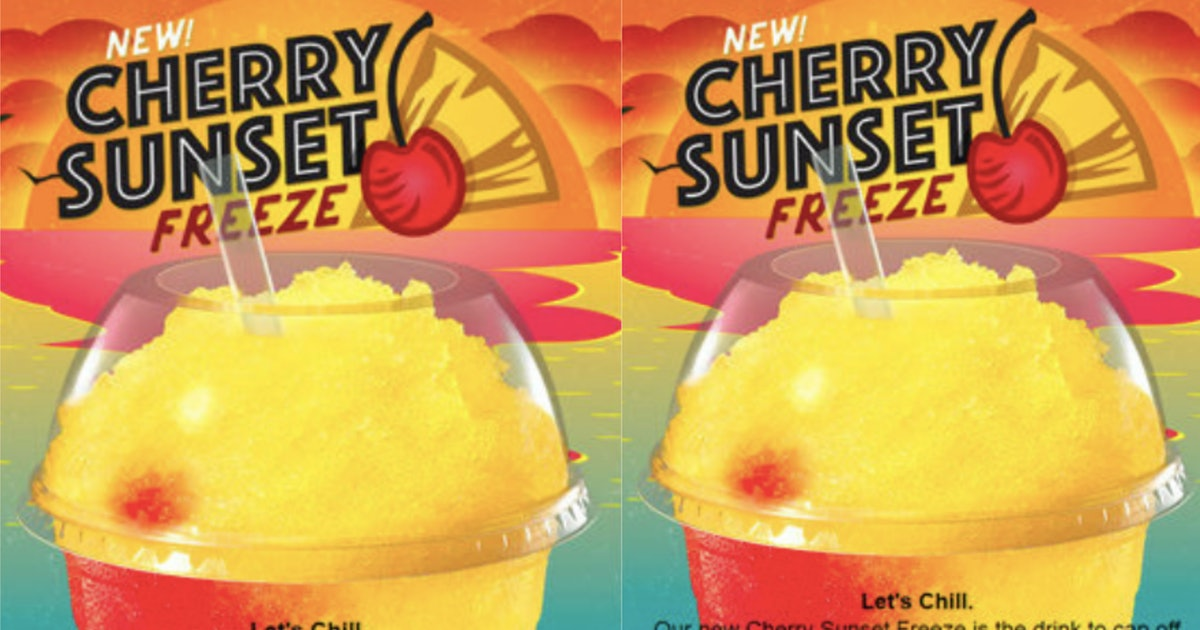 Taco Bell Just Launched A Sunset Freeze That Tastes Like Vacation