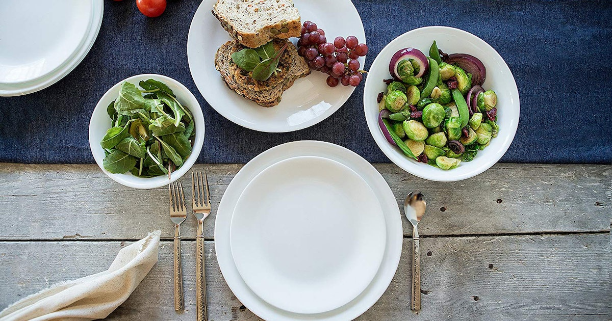 This Unbreakable Dinnerware Will Pretty Much Last Forever (& It's Cheap, Too)