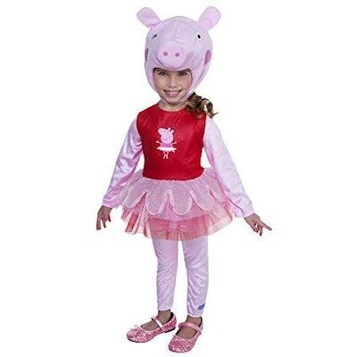 Peppa Pig Ballerina Costume, 3-4T