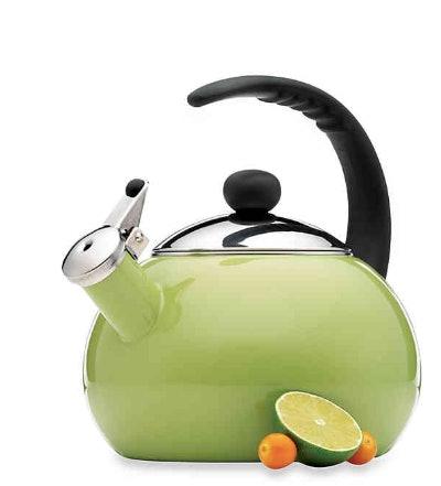 Farberware® Luna 2.5-Quart Tea Kettle in Green