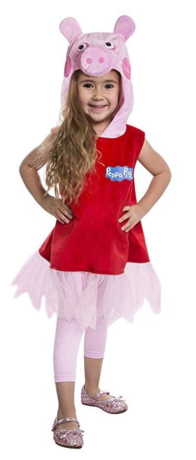 Peppa Pig Deluxe Dress Costume, 2T