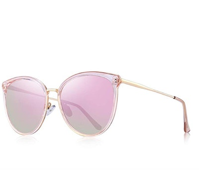 OLIEYE Vintage Polarized Cat Eye Sunglasses