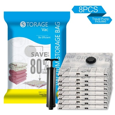 SUOCO Vacuum Storage Bags (8-Pack)