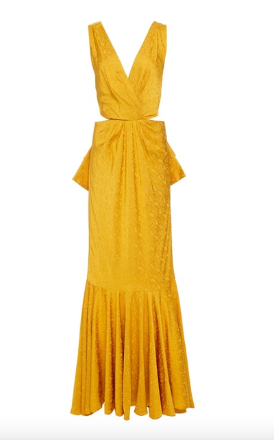Silky Breeze Jacquard Gown