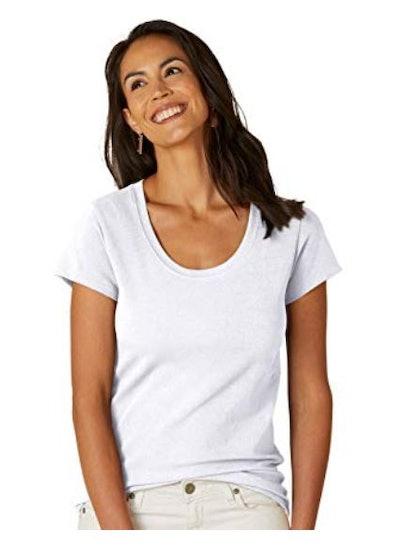 Fair Indigo Scoop-Neck T-Shirt