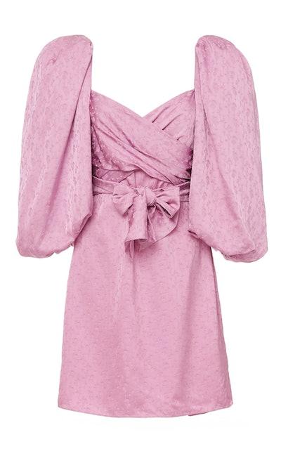 Midnight Promises Puff Sleeve Dress