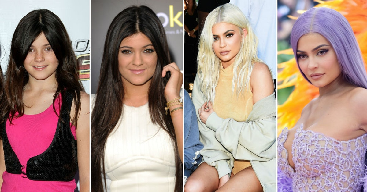 Kylie Jenner's Hair Evolution Is Filled With So Many Stylish Twists & Turns