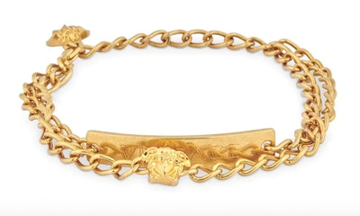 Versace Insignia Double Anklet