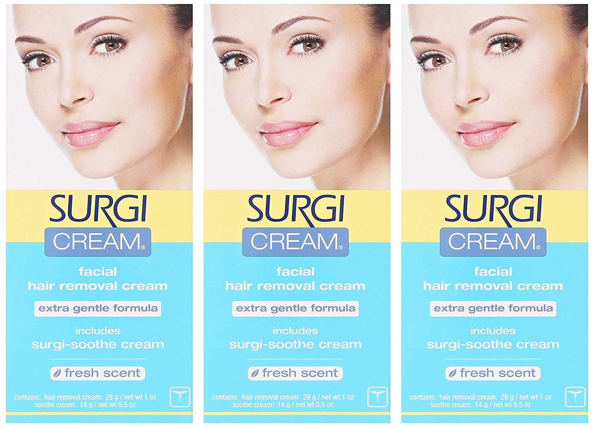 Surgi-cream Hair Remover For Face (3 Pack)
