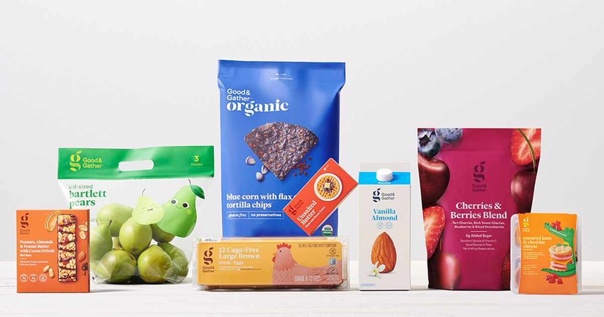 Target's New Good & Gather Brand Will Replace Two Of The Company's Grocery Lines