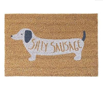 Silly Sausage Doormat