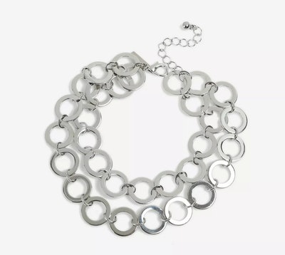 Circle Link Draped Anklet
