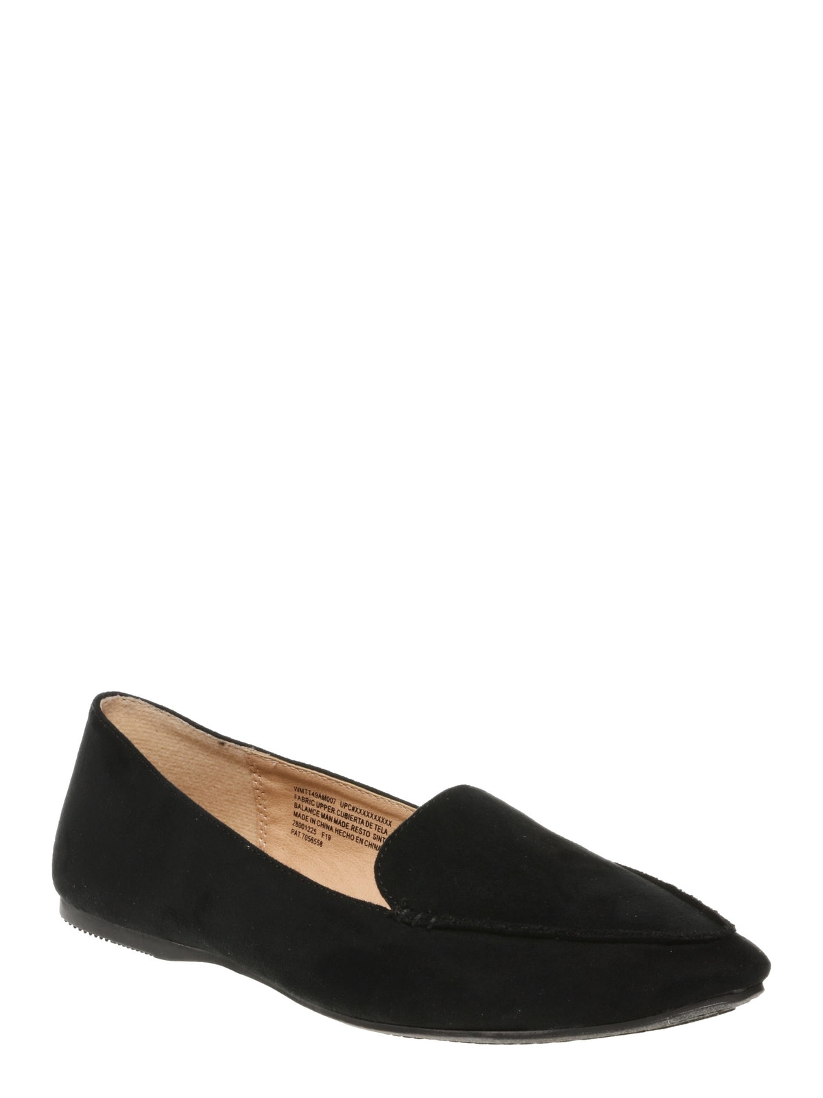 """Time And True Feather Flats in """"Black"""""""