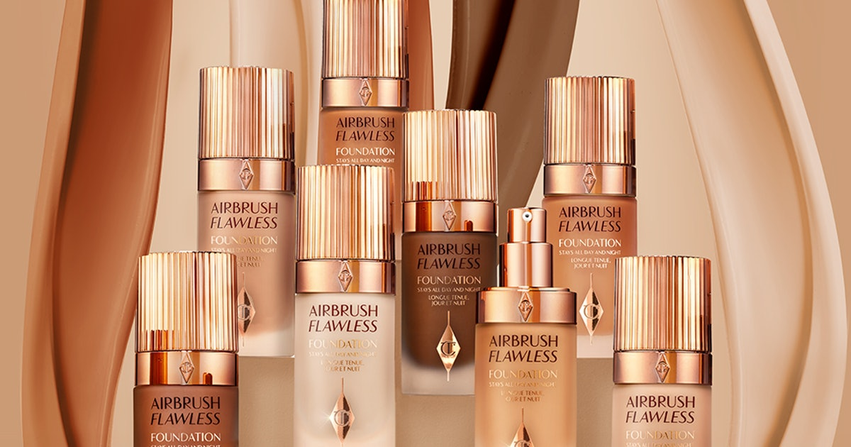 Where To Get Charlotte Tilbury's Airbrush Flawless Foundation For Supermodel Skin IRL