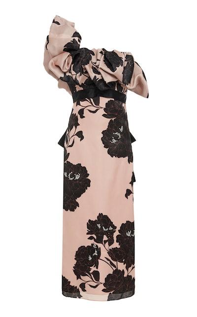 Prodigious Silk Floral Dress