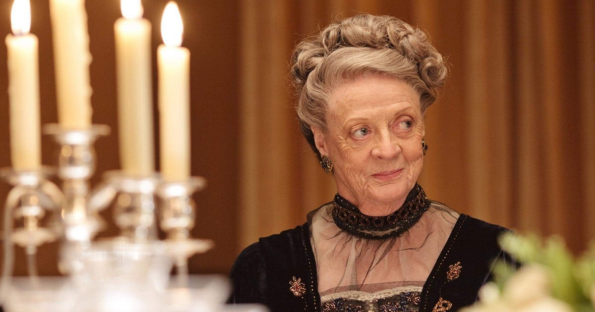 Maggie Smith's 'Downton Abbey' Movie Return Was Delayed For A Truly Great Reason