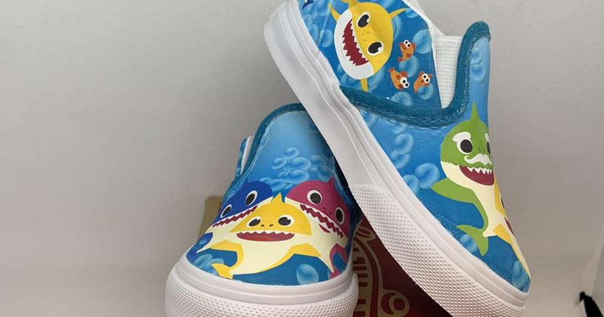 These Custom Baby Shark Vans Will Make Your Kid The Coolest Fish In The Sea